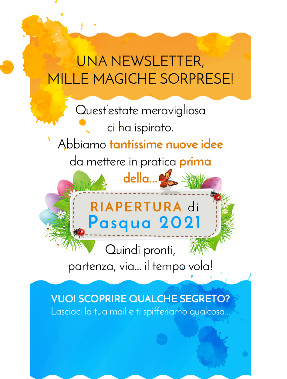 Una newsletter, mille magiche sorprese!